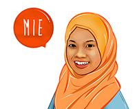 ILLUSTRATION | MIE HISHAMUDDIN