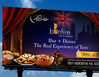 Ramadan Kareem Billboard Design