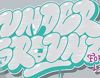 Underground for life/ t-shirt design
