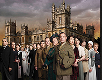 STV. Downton Abbey Ad