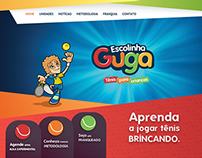 Website Escolinha Guga