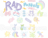 Rad Pastel Icon Set