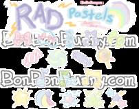 Rad Pastel Icon Set