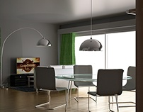 Interior Design Rendering [Cinema 4D + VRay]