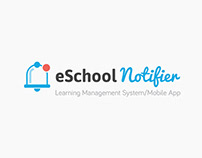 Motion Graphic for eSchool Notifier.