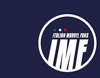 Logo for IMF (Italian Marvel Fans)