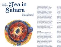 Food Review: Tea in Sahara