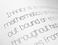 Infinity — Free Font