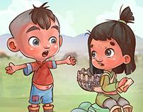 Mongol Comic Strip