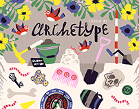 Archetype / Archaeological Magazine Cover