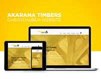 Akarana Timbers Christchurch website