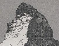 Line Drawing: Matterhorn