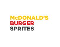 McDonald's Burger Sprites