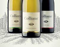 KLET BRDA | Colliano, labeling
