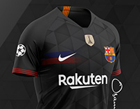 FC Barcelona 2nd kit 2021