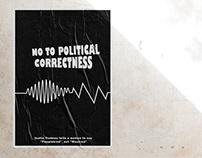 "Social Poster : ""No To Political Correctness"""