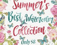 SUMMER'S BEST WATERCOLOR COLLECTION