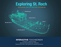 InteractiveTouchscreen: Storytelling of St. Roch