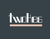 TWOKES - Fontdesign