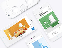 Decoration Assistant app | 移动VR软装助手Room