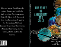""" The Story of Astronomy and Space "" - Cover book (1)"