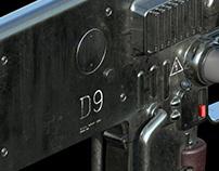 D9 Houndog Rifle