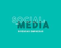 Social Media - Diversas Empresas