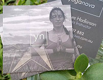 Yoga Nova - Business Cards - 5th Ink Spot UV
