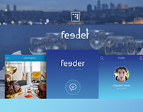 Feeder Restaurant Finder App