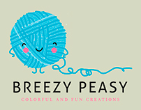 Breezy Peasy | Brand design