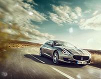 Maserati Ghibli & Quattroporte_UK