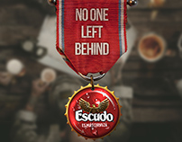 CERVEZA ESCUDO - NO ONE LEFT BEHIND