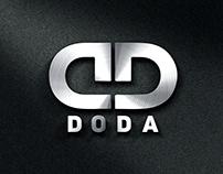 DODA logotype design