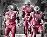 "Rutgers Football ""Tunnel Vision"" Social Media Graphic"