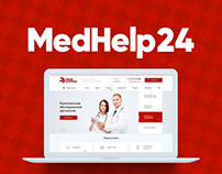 MedHelp 24 Clinic website