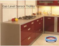 Gas Level Sensor Trolley