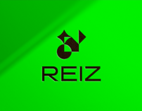 REIZ tech branding