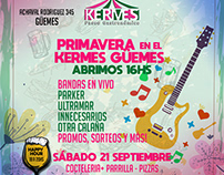 Paseo kermes - eflyers redes