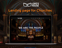 Church Redesign - Landing Page for Churches