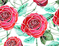 Roses Pattern Designs