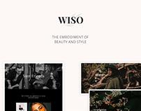 Wiso Photography WordPress Theme