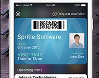 Visitor management app