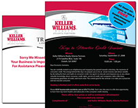 Keller Williams Promotional Materials