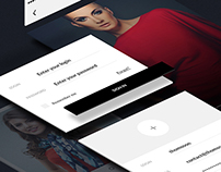 Hit Colour - Fashion Clean App & Icons design