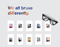 We All Brave Differently | Stationery Design