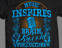 Music Inspires me brain.....