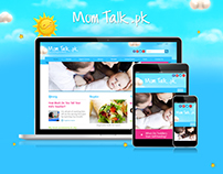 Mom Talk Web Portal