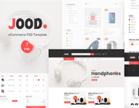 Jood - E-commerce Psd Template
