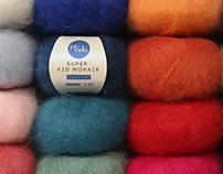 Piu Bella. Identity for yarn brand