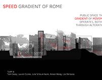 Design 7: Project 1: The Aurelian Wall: Public Spaces